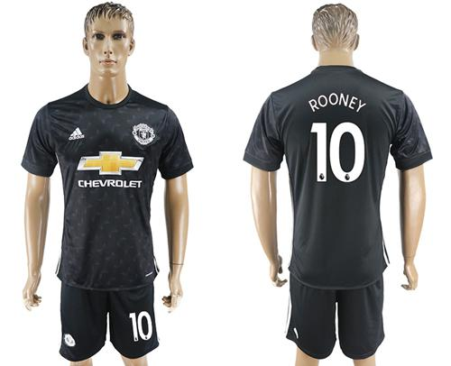 Manchester United #10 Rooney Away Soccer Club Jersey